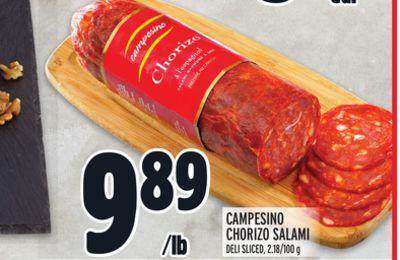 CAMPESINO CHORIZO SALAMI