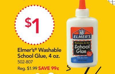 Elmer's® Washable School Glue, .
