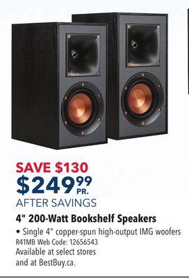 Klipsch R41M 50 Watt Bookshelf Speaker