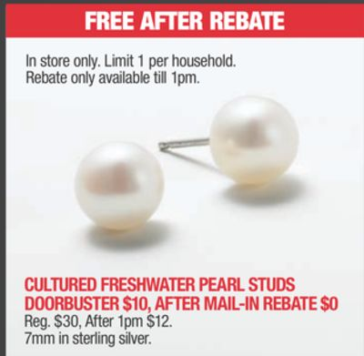 Cultured Freshwater Pearl Studs