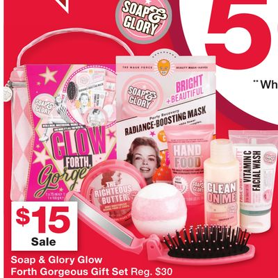 soap glory glow forth gorgeous gift set