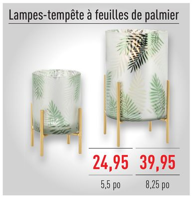Lampes Tempte Feuilles De Palmier