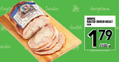 UNIOPOL ROASTED CHICKEN BREAST