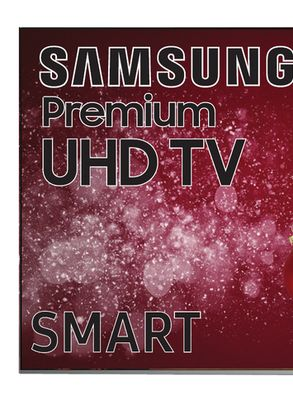 Samsung Premium 75 4K Ultra Hi Definition HDR TV