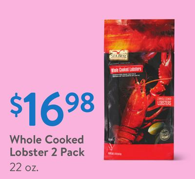 Whole Cooked Lobster 2 Pack
