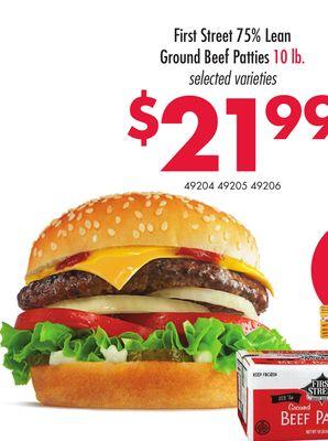 Smart And Final Hamburger Patties - healthy food recipes to