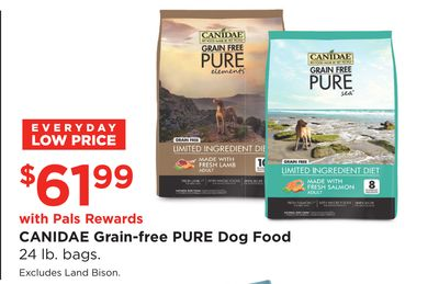 2d39b282c0c71 CANIDAE Grain-free PURE Dog Food