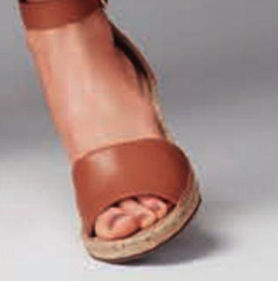 5df6202af853 VINCE CAMUTO Leera wedge sandals in tan