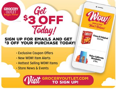 Grocery Outlet Weekly Ad for Mountain View this week (Apr 3