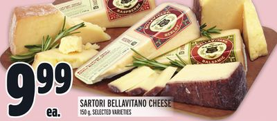 SARTORI BELLAVITANO CHEESE
