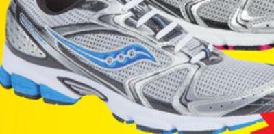 b58b9522e7f92 Saucony Grid Stratos 5 Men s Running Shoes. Nike Revolution 4 Men s Running  Shoes. FILA Memory Finition Women s Running Shoes