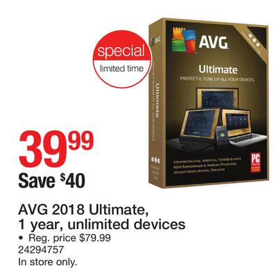 To Have A Unique National Style Avg Ultimate 2018-2 Year Unlimited Devices online De