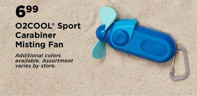 617bfd0f O2COOL® Sport Carabiner Misting Fan - Flipp
