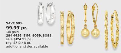 ccf865f4f06a 14k Gold Earrings - Flipp
