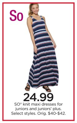 01ee6cec0973 SO® knit Maxi Dresses For Juniors And Juniors' Plus
