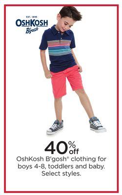 132e8a846 OshKosh B'gosh® Clothing For Boys 4-8, Toddlers And Baby