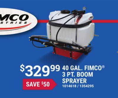 Fimco 55 Gallon 3 Point Sprayer
