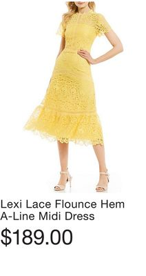 06c35540a80 Denan Lace Midi Length Sheath Dress - Flipp