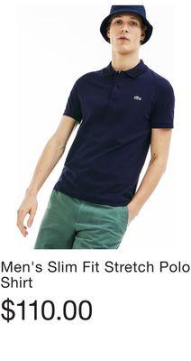 560626162f8b2 Men s Slim Fit Stretch Polo Shirt - Flipp