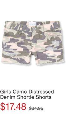 ea7915075e Girls Exposed Pocket Distressed Denim Shortie Shorts - Flipp