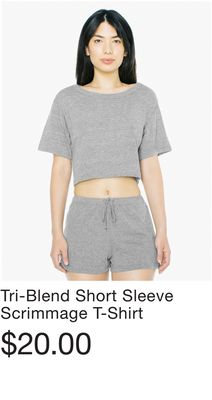 08a5daca8b4 Tri-Blend Short Sleeve Scrimmage T-Shirt