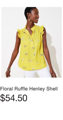 e8d0c3c54f5 Ruffle Henley Shell - Flipp
