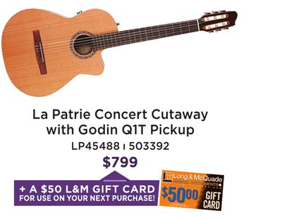 43ab60753ec Long & McQuade Musical Instruments Flyer for Aurora this week (Jun 1 ...