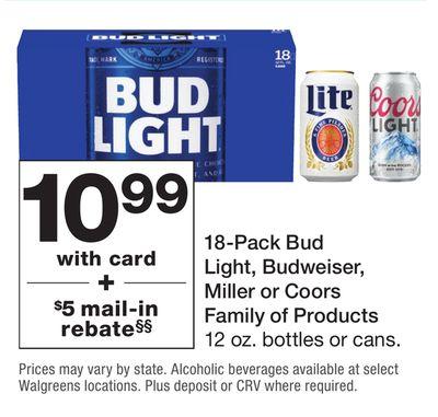 Bud Light Mail In Rebate