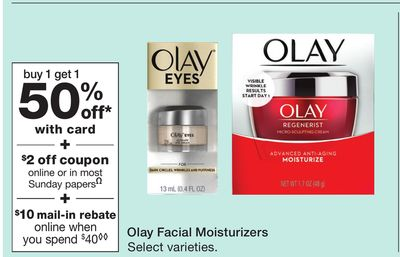 Get Olay Facial Moisturizers for $ in Naylor | Flipp
