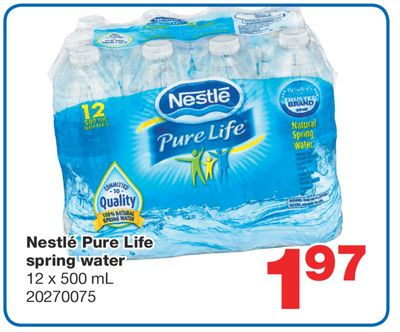 Find the Best Deals for nestle-pure-life in New Westminster, BC | Flipp