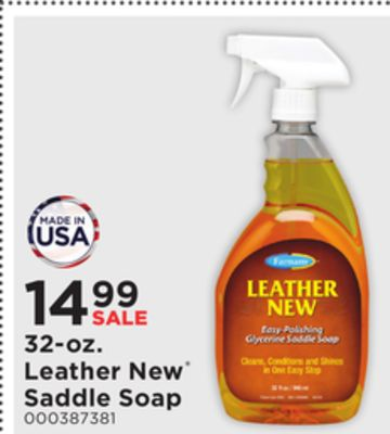 Get Farnam Leather New Saddle Soap for $14 99 in Onawa | Flipp