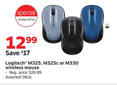 bba401f0f1a Logitech® M325, M325c or M330 wireless mouse