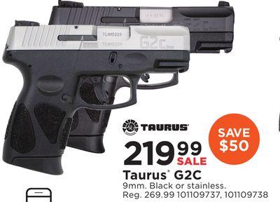 Get Taurus G2C for $219 99 in Cadott | Flipp