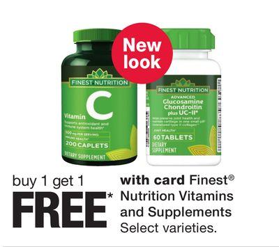 Find the Best Deals for vitamins in Houston, TX | Flipp