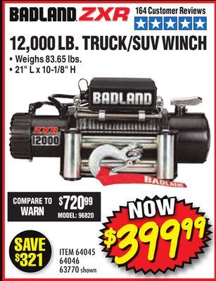Get 12,000 LB  TRUCK/SUV WINCH for $399 99 in Sandy | Flipp