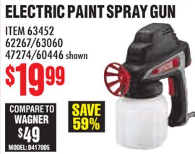 Get ELECTRIC PAINT SPRAY GUN for $19 99 in Torrington | Flipp