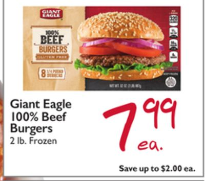 Find the Best Deals for beef-burger in Thorntown, IN | Flipp