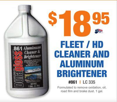 Aluminum Cleaner And Brightener