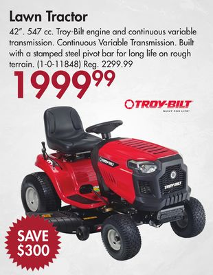 Find the Best Deals for lawn-tractors in North Battleford, SK   Flipp