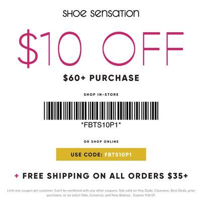 Shoe Sensation, Shoe Sensation Weekly