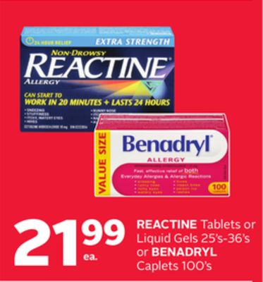 Find the Best Deals for benadryl in Rockland, ON | Flipp