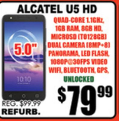 Find the Best Deals for alcatel in Whitby, | Flipp