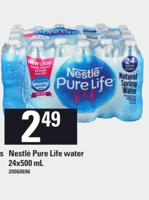Find the Best Deals for nestle-pure-life-water in Val Caron, ON | Flipp