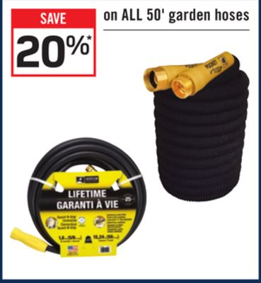 Find the Best Deals for garden-hose in Williams Lake, BC | Flipp