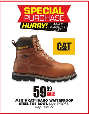 0c59d613b21 Find the Best Deals for steel-toe-boots in Saint Helen, MI | Flipp