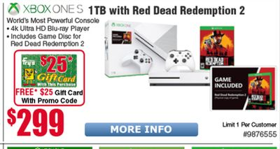 Get 1TB With Red Dead Redemption 2 for $ in   Flipp