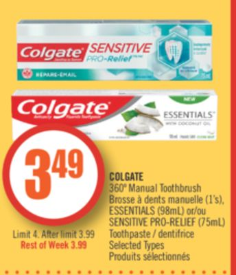 Find the Best Deals for toothpast in Cocagne, | Flipp