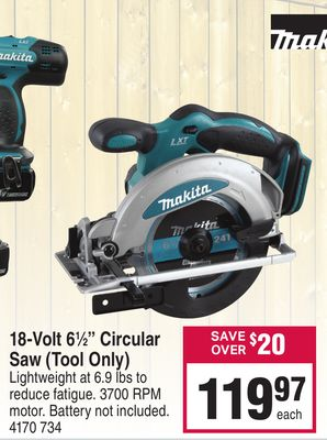 Find the Best Deals for circular-saw in Swift Current, SK | Flipp