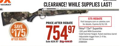 Cabela's , Cabela's Fall Hunting Classic - Whittemore | Flipp