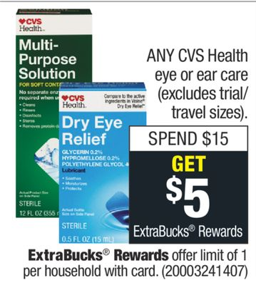 Get ANY CVS Health eye or ear care with $ in Houston | Flipp
